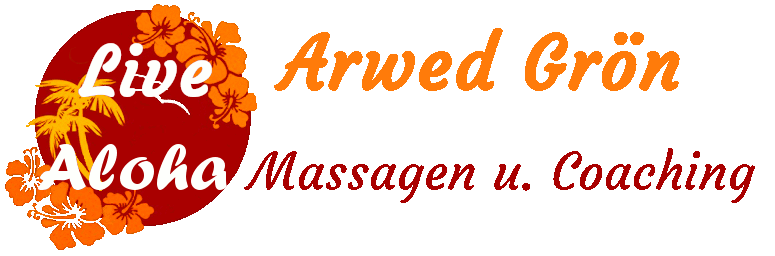 Arwed Grön Live Aloha Massagen und Coaching Logo
